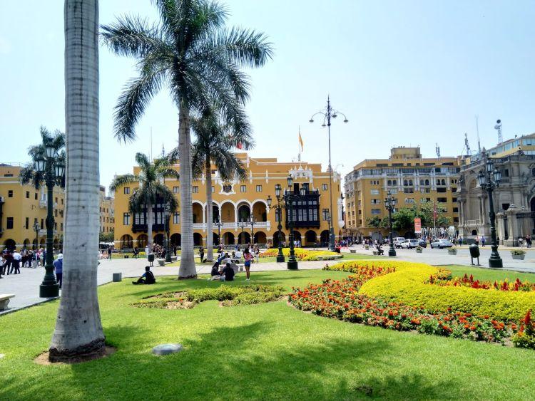 Lima főtere