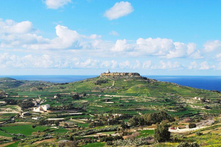 Gozo-n magasodik a Fellegvár