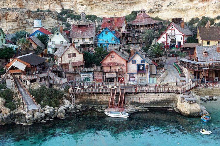 A film elkészülte után megmaradt a falu