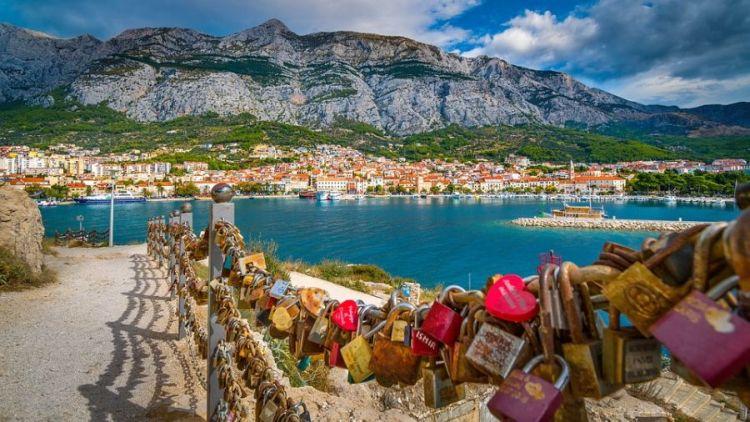A Makarska Riviéra világhírű partszakasz