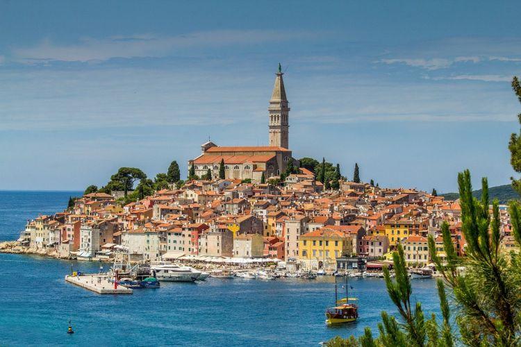 Isztria legszebb városa Rovinj