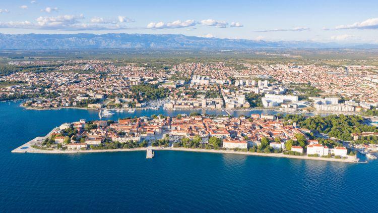 Zadar óvárosa egy kicsit hasonlít Dubrovnikhoz