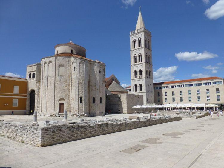 Zadar egyik jelképe a templom