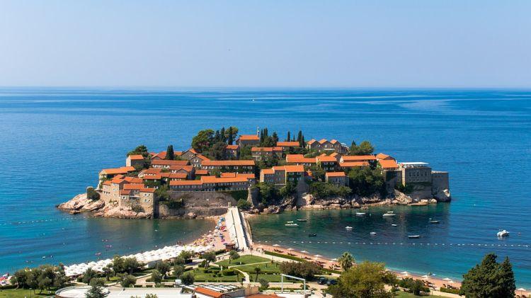 A sziget egésze egy luxusszálloda