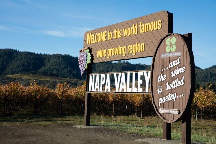 A Napa-völgy világszerte híres borrégió