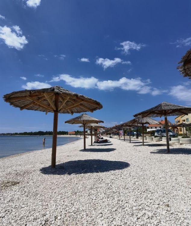 Ez Vir sziget legnépszerűbb strandja