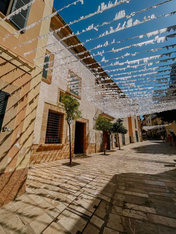 Alcudia egyik utcája